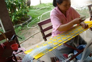 silk making thailand
